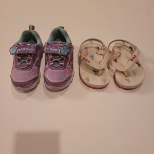 Ralph lauren flip flop&paw patrol shoes